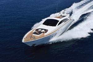 Lei en yacht